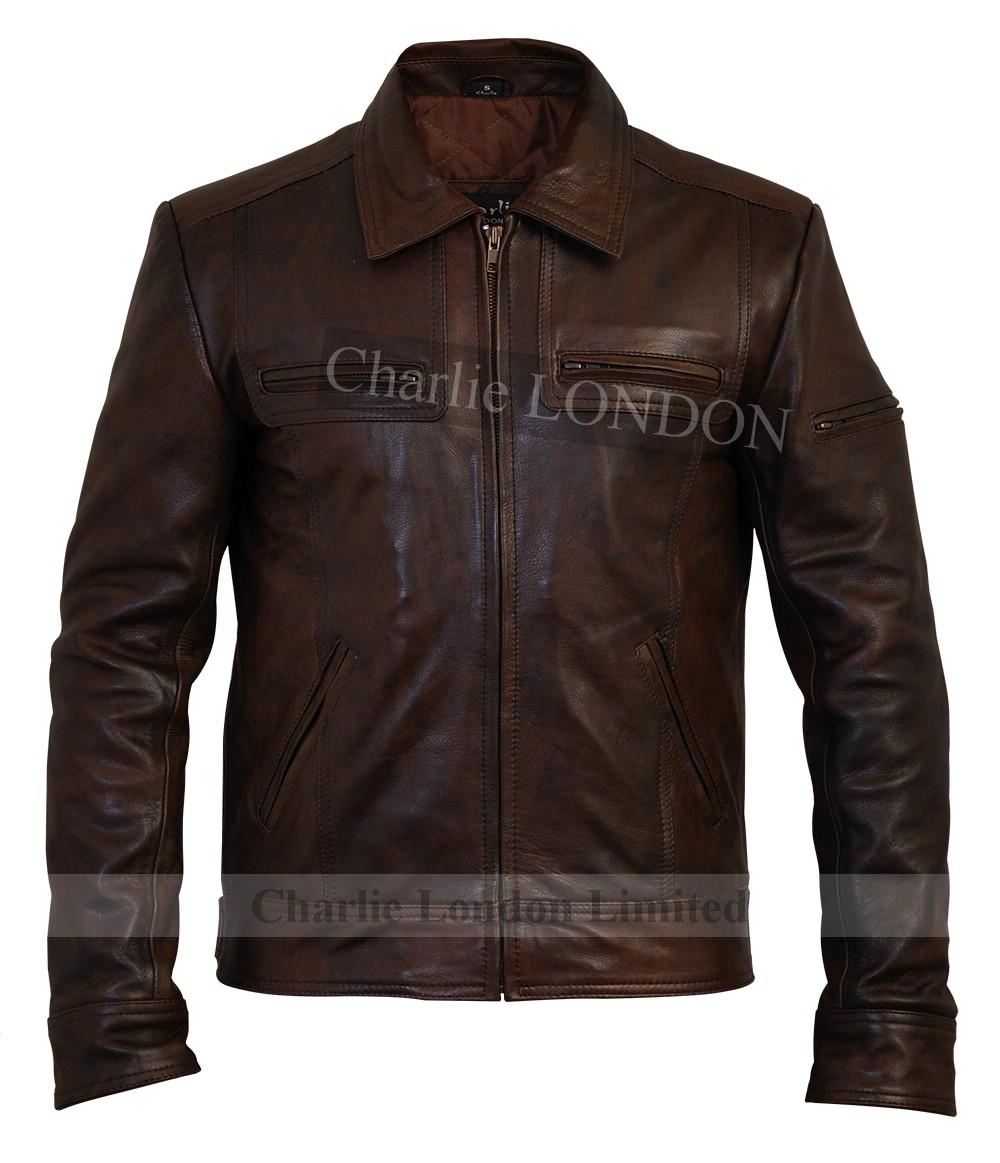 Leather jacket shop london