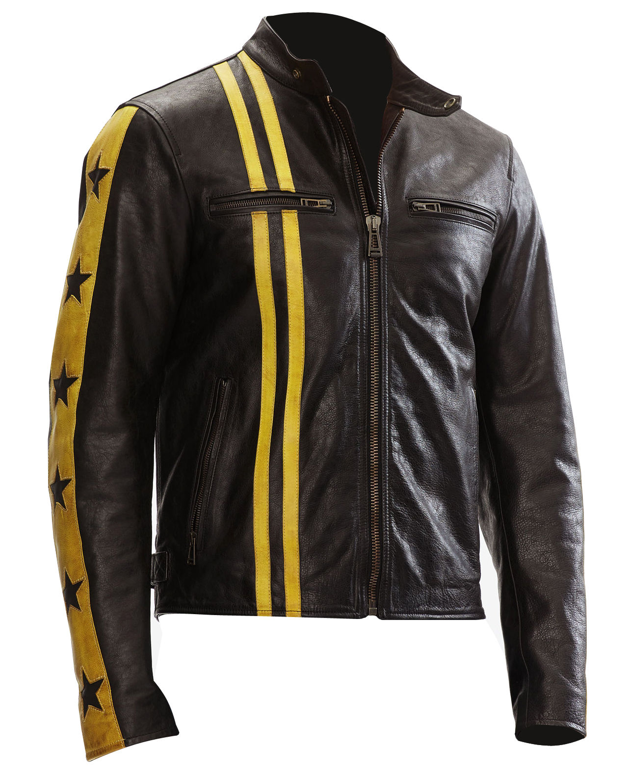 Mens Mashburn Biker Leather Jackets -1.jpg