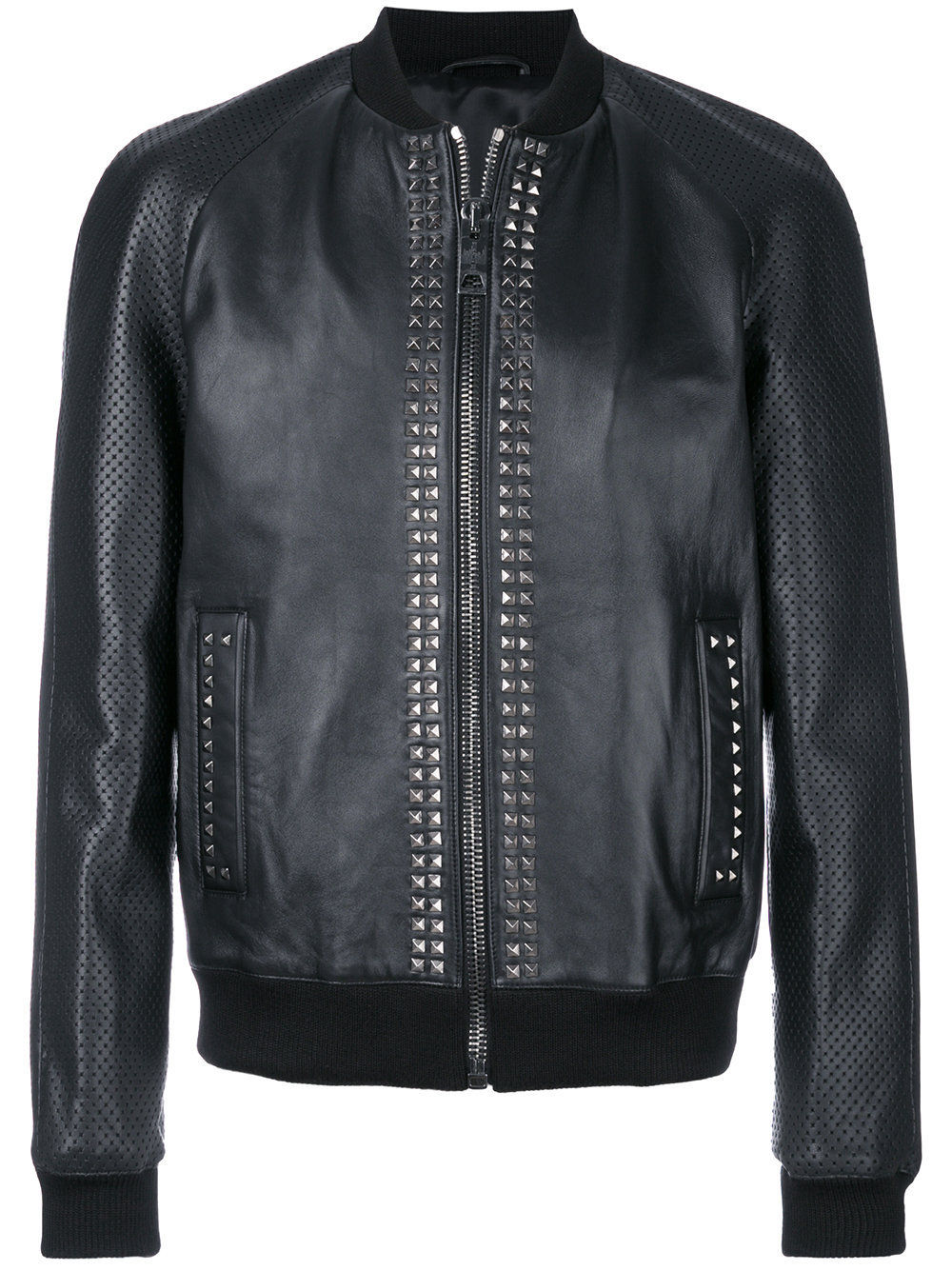 Mens Studded Bomber Designer Leather Jackets 01.jpg