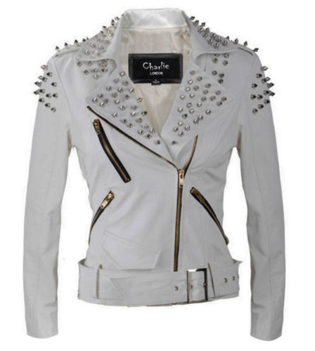 Womens Punk studded Leather Biker Jackets 1.jpg